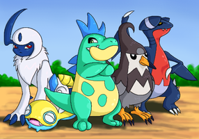My heartgold poke-team