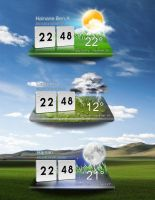 LG Optimus Weather by pigboat
