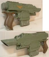 Nerf gun Las pistol conversion. by Gruntoks