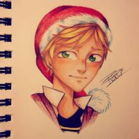 Merry christmas adrien~ by VIKI-J