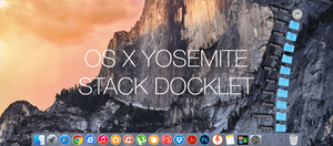 OS X Yosemite Stack Docklet by vndesign