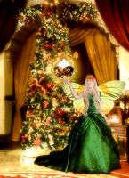 Christmasfairy in Green by Pissenlit00