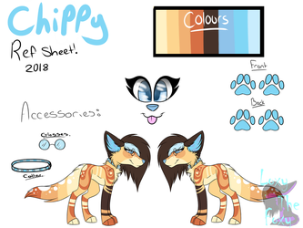 Chippy's Full Official Ref - 2018 by LoxyTheFoxy
