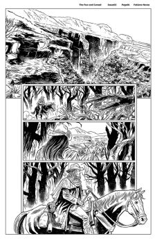 The Few and Cursed Issue02 pg01 - Fabiano Neves by FabianoNeves