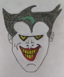 My Drawing Of The Joker 2.0 by spencerbt123