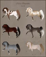 Horse Point Adoptables - Set 14 CLOSED by Paardjee
