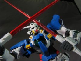 HG 1/144 Gundam Exia with beam sabers. by Lock-OS
