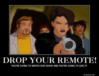 Drop your remote! by Maddygirl13