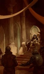 Tales From The Kings Court Rough by yigitkoroglu