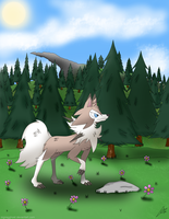 Lycanroc Midday by ZigZagGhost