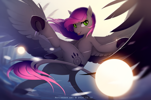 The evening Star by antiander-art