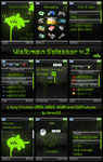 Walkman Splatter V.2 - K800 by moron12