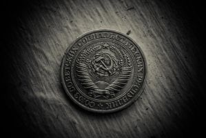 A Soviet Ruble by gravedesires777