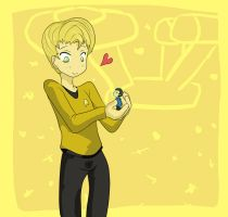 St TOS: Spirk - Hey by Shigerugal