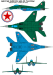 Mikoyan Gurevich MiG-29 FULCRUM KPAAF by bagera3005