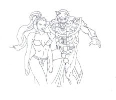 Everquest drawing by electronicdave