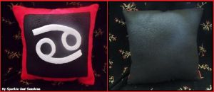 Knight of Blood - Pillow by Sparkle-And-Sunshine