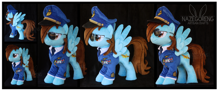 Colonel Walther Custom Plush by Nazegoreng