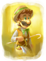 Luigi by themeisterart