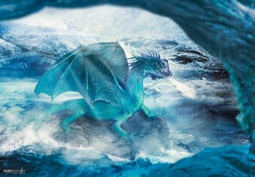 The Ice Dragon by Janus1810