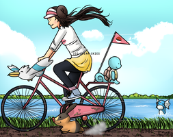 Pokemon Bicycle by ice-cream-skies