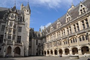 Pierrefonds Castle - Camelot main courtyard by MorgainePendragon