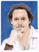 Johnny Depp - LA 2011 - 6 by shaman-art