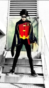 Robin - Young Justice by TeatroRodarly