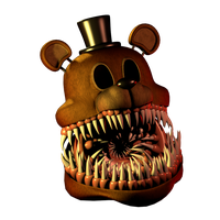 Twisted Freddy v2 (Head wip) by 3D-Darlin