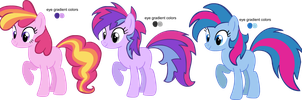 Pinkie Dash adoptables CLOSED by ColossalStinker