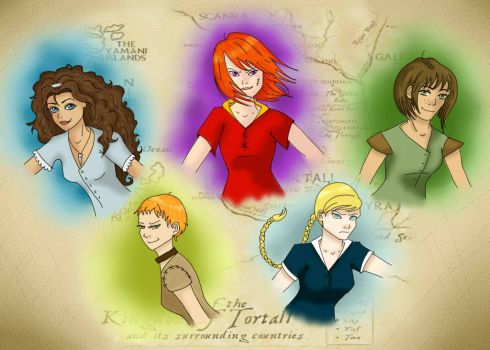 Tortall Girls by JeBoo09
