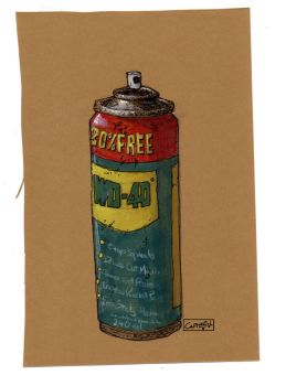 WD40 by m99art