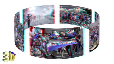 World Cup 2018 in Zagreb by 3D-Stereoimage