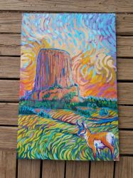 Devils Tower Wyoming by jupiterjenny