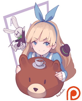 [Example for patron-only: Alice] by Hentaki-kun