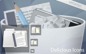 Delicious Icons by iTweek