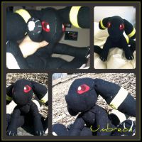 Umbreon Plushie by CeltysShadow