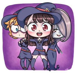 little witches by uuteki