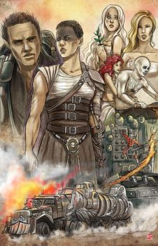 Fury Road by TyrineCarver