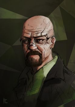 Walter White by AHalfEatenTwinky