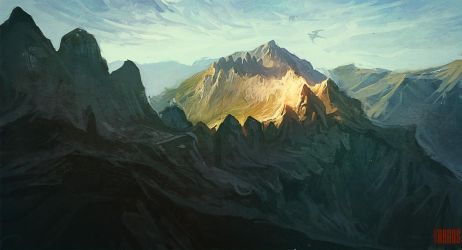 Speedpainting 55 Dragonland by RHADS