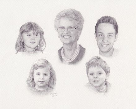 Belinda-family2 by pixeleiderdown