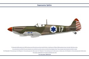 Spitfire Mk IX Israel 1 by WS-Clave