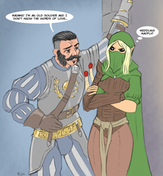 Markus and Kerillian by Flick-the-Thief
