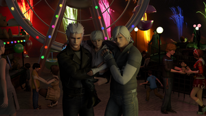 Dad, me and uncle Dante by Taitiii
