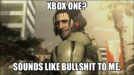 Sam's reaction to Xbox One by 1tailnaruto