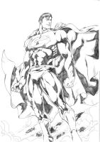 Superman by Jean Sinclair by JeanSinclairArts