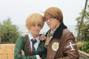 [APH] England and America - Allies or Lovers? by mariasachan
