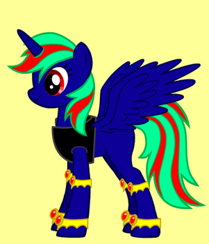 My pony form from the creator by Icethehybrideevee