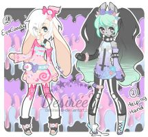 Pastel Goth Adopts (CLOSED) by DesireeU